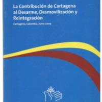 La contribución de cartagena al desarme, desmovilización y reintegración listo.pdf